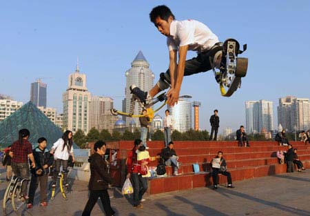 Chinese jump copy