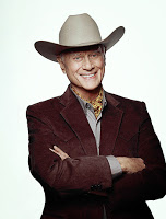 Larry Hagman als JR in 'Dallas'