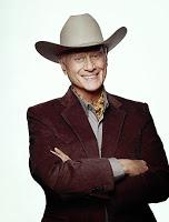 Larry Hagman als JR in 'Dallas'