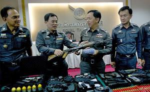 Thai politie